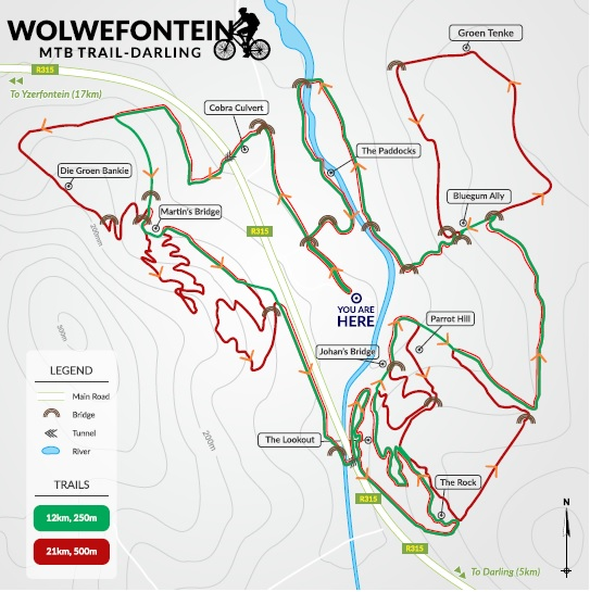 Wolwefontein MTB map pic